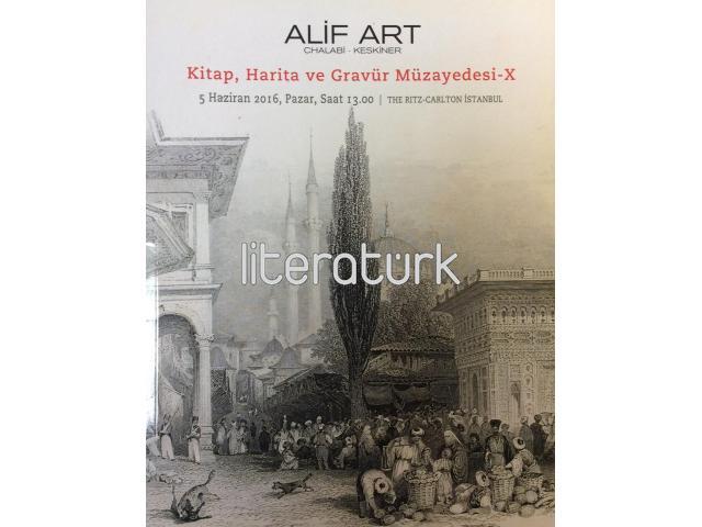 ALİF ART - KİTAP, HARİTA VE GRAVÜR MÜZAYEDESİ - X