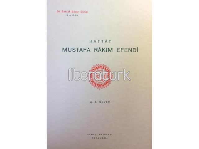 50 SANAT SEVER [3] - HATTAT MUSTAFA RAKIM EFENDİ