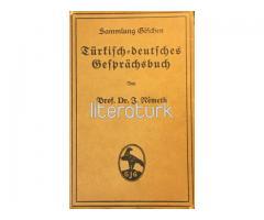 Türkisch-Deutsches Gesprachsbuch [ALMANCA, OSMANLICA, DİLAÇAR]