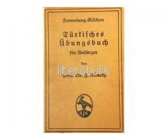 Türkisches übungsbuch für Anfänger [ALMANCA, OSMANLICA, DİLAÇAR]