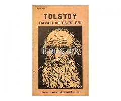 TOLSTOY - HAYATI VE ESERLERİ