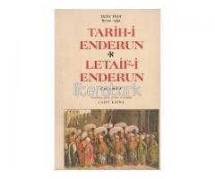 TARİH-İ ENDERUN LETAİF-İ ENDERUN 1812-1830 [İLK BASKI]