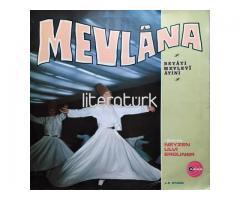 ULVİ ERGUNER ✩ MEVLANA. BEYATİ MEVLEVİ AYİNİ ✩ LP21005 PLAK [ARAS, 1973]