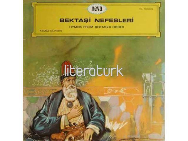 BEKTAŞİ NEFESLERİ ✩ HYMNS FROM BEKTASHI ORDER ✩ LP PLAK CL 50003