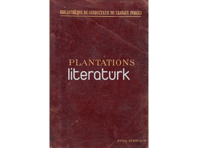 PLANTATIONS D'ALIGMENT. PROMENADES, PARCS ET JARDIN PUBLICS [FRANSIZCA]