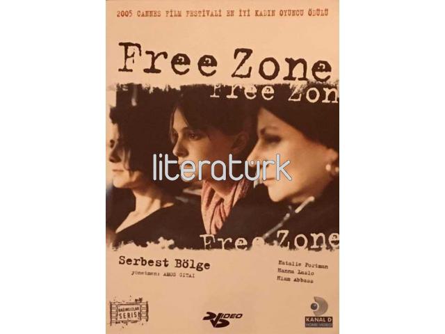 FREE ZONE [SERBEST BÖLGE] ✩ AMOS GITAI ✩ NATALIE PORTMAN [PLASTİK KUTU,  1 DVD]