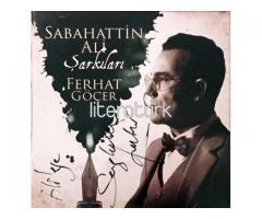 FERHAT GÖÇER - SABAHATTİN ALİ ŞARKILARI - CD [İMZALI]