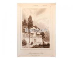 TÜRK EVİ ✩ 1840 [GRAVÜR]
