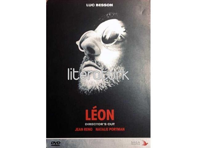 LEON [DIRECTOR'S CUT] ✩ LUC BESSON, JEAN RENO, NATALIE PORTMAN [METAL KUTU,  2 DVD]
