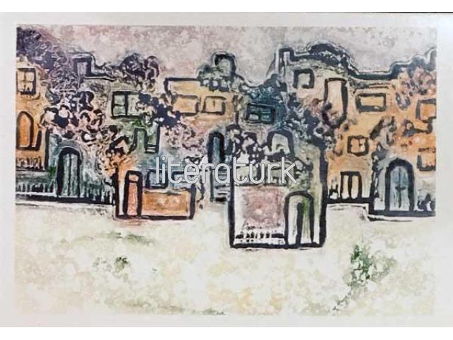 İNCİ TEMEL ✩ BODRUM [KARTPOSTAL]