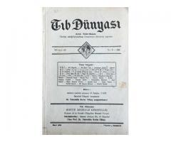TIB DÜNYASI - AYLIK TIBBİ RİSALE - MART 1939; CİLT 12 SAYI 3 [131]