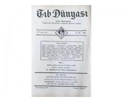 TIB DÜNYASI - AYLIK TIBBİ RİSALE - BİRİNCİKANUN 1942; CİLT 15 SAYI 12 [176]