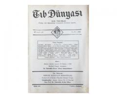 TIB DÜNYASI - AYLIK TIBBİ RİSALE - EYLÜL 1942; CİLT 15 SAYI 9 [173]