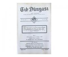 TIB DÜNYASI - AYLIK TIBBİ RİSALE - AĞUSTOS 1942; CİLT 15 SAYI 8 [172]