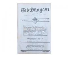 TIB DÜNYASI - AYLIK TIBBİ RİSALE - TEMMUZ 1942; CİLT 15 SAYI 7 [171]