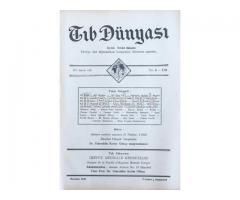 TIB DÜNYASI ✩ AYLIK TIBBİ RİSALE ✩ HAZİRAN 1942; CİLT 15 SAYI 6 [170]