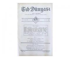 TIB DÜNYASI - AYLIK TIBBİ RİSALE - MAYIS 1942; CİLT 15 SAYI 5 [169]