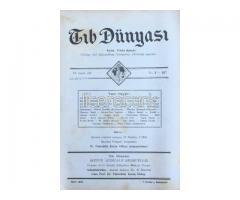 TIB DÜNYASI - AYLIK TIBBİ RİSALE - MART 1942; CİLT 15 SAYI 3 [167]