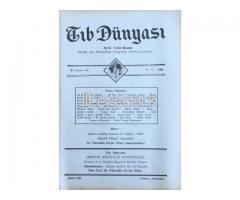 TIB DÜNYASI - AYLIK TIBBİ RİSALE - ŞUBAT 1942; CİLT 15 SAYI 2 [166]