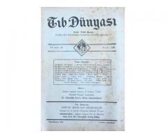 TIB DÜNYASI ✩ AYLIK TIBBİ RİSALE ✩ İKİNCİKANUN 1942; CİLT 15 SAYI 1 [165]