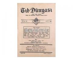 TIB DÜNYASI ✩ AYLIK TIBBİ RİSALE ✩ İKİNCİKANUN 1948; CİLT 21 SAYI 9 [245]