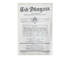 TIB DÜNYASI ✩ AYLIK TIBBİ RİSALE ✩ İKİNCİKANUN 1943; CİLT 16 SAYI 1 [177]