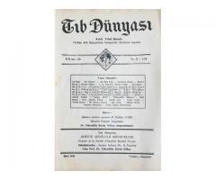 TIB DÜNYASI ✩ AYLIK TIBBİ RİSALE ✩ MART 1943; CİLT 16 SAYI 3 [179]
