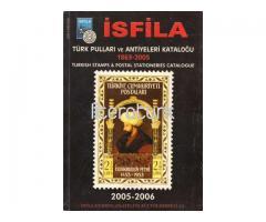 İSFİLA TÜRK PULLARI VE ANTİYELERİ KATALOĞU ✩ 1863-2005