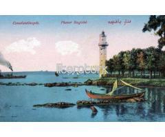 FENERBAHÇE FENERİ ✩ EDİTÖR: M.J.C. № 88 CONSTANTINOPLE [RENKLİ KARTPOSTAL]