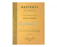 NASİHAT-I İSLAMİYE