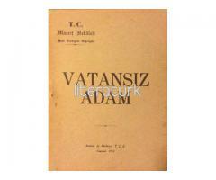 VATANSIZ ADAM [İLK BASKI - LATİN HARFLERİ İLE]