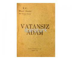 VATANSIZ ADAM [İLK BASKI ✩ LATİN HARFLERİ İLE]