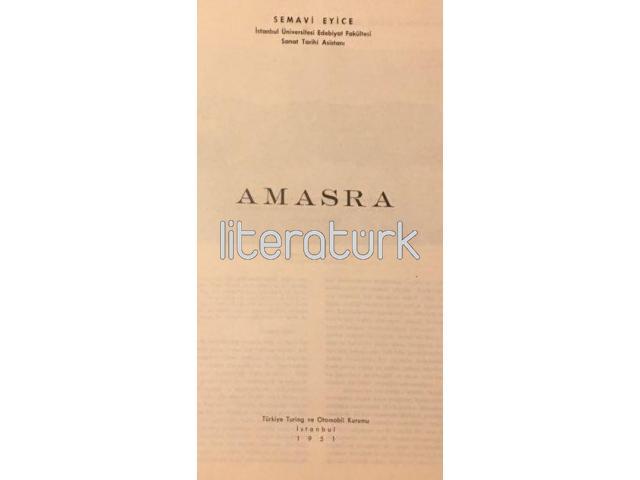 AMASRA [SEMAVİ EYİCE]