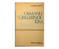 OSMANLI TÜRKLERİNDE İLİM