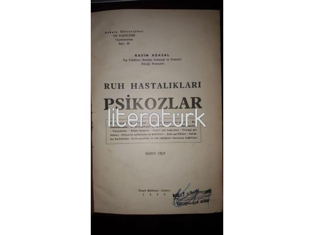 RUH HASTALIKLARI - PSİKOZLAR İKİNCİ CİLT