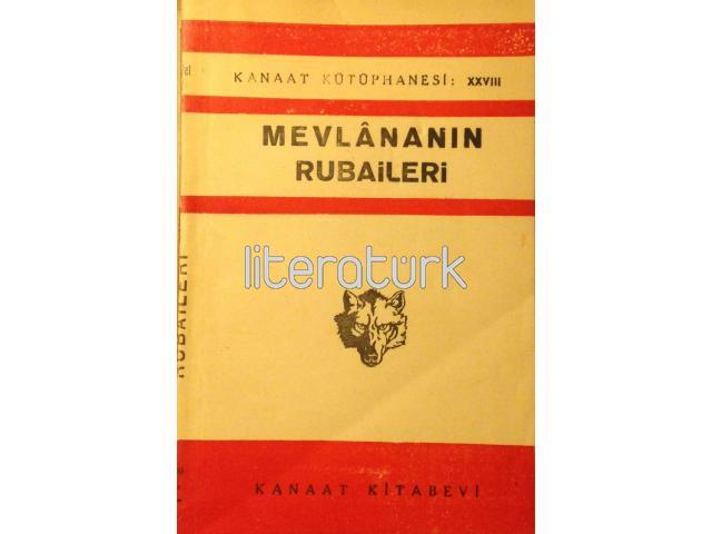 MEVLANANIN RUBAİLERİ