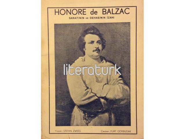 HONORE DE BALZAC ✩ SANATININ VE DEHASININ İZAHI [İLK BASKI]