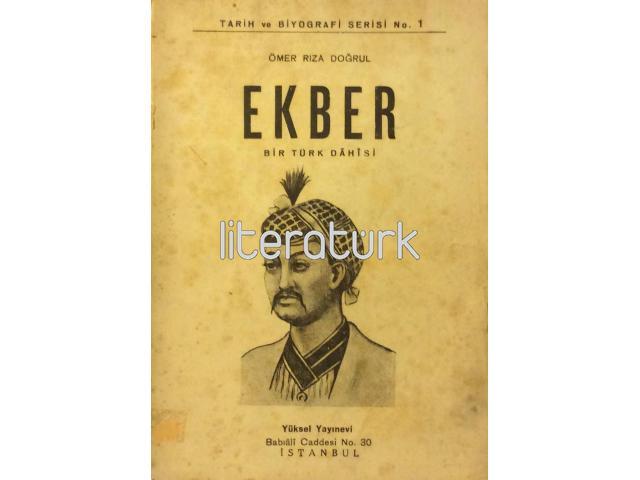 EKBER ✩ BİR TÜRK DAHİSİ [İMZALI]