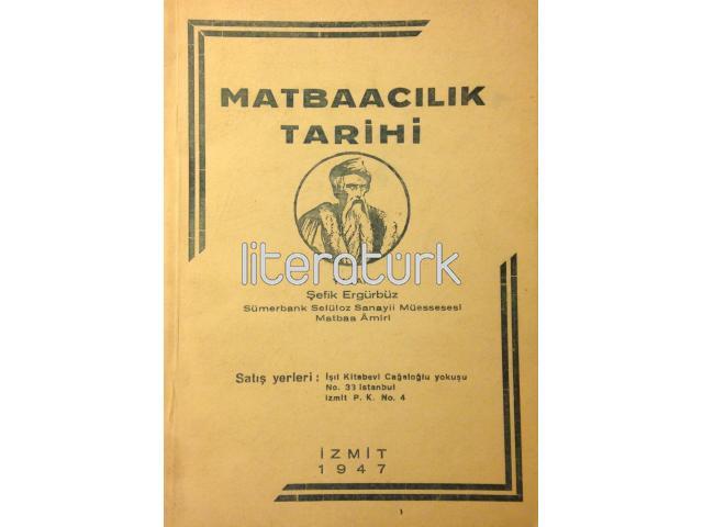 MATBAACILIK TARİHİ [İMZALI]
