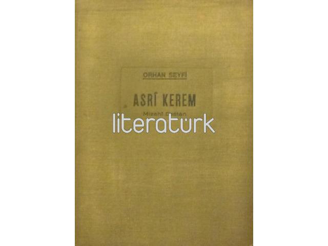 ASRİ KEREM ✩ MİZAHİ DESTAN [İLK BASKI]