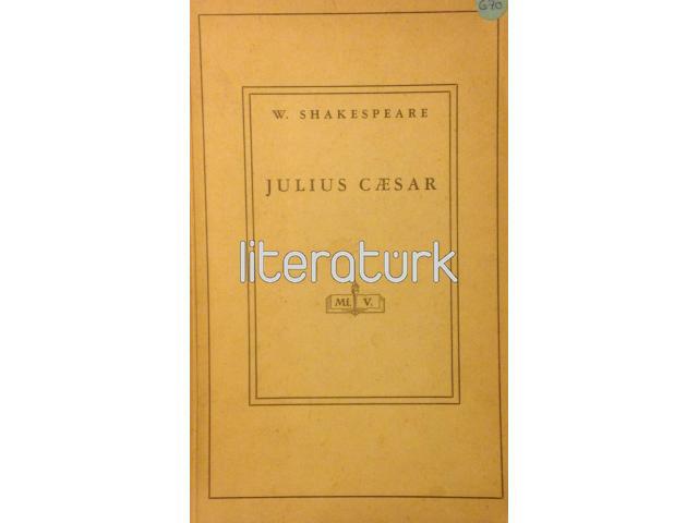 JULIUS CAESAR ✩ JÜL SEZAR [İLK BASKI, İMZALI]