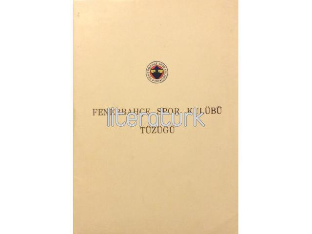 FENERBAHÇE SPOR KULÜBÜ TÜZÜĞÜ [1973]