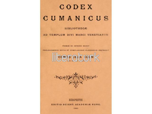 CODEX CUMANICUS - KUMAN KİTABI [İLK BASKI, LATİNCE]